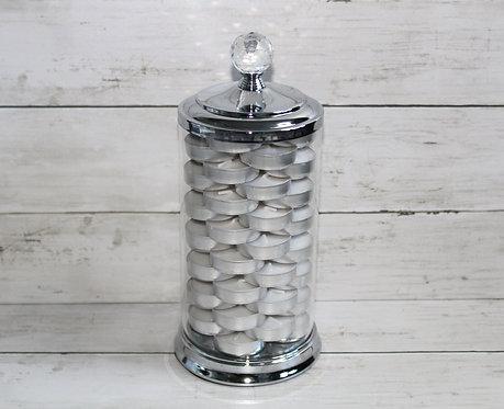 Ivy Glass Jar