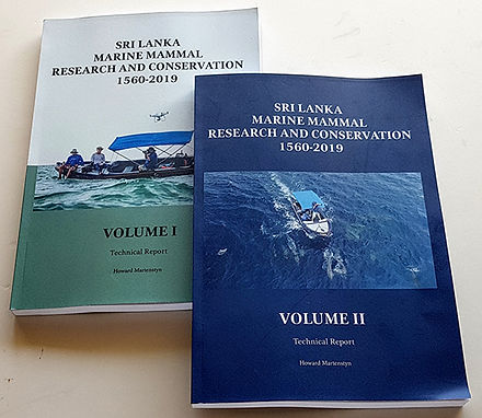 Marine mammal research and conservation technical report