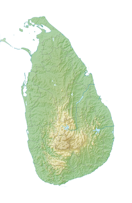 Explore Sri Lanka activity map