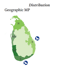 Dugong geographical and depth distribution
