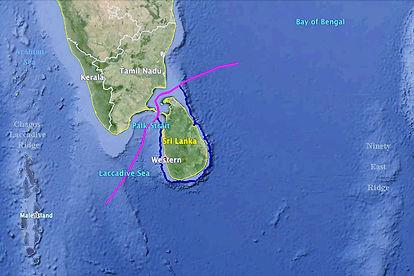 Sri Lanka India Maritime Boundary