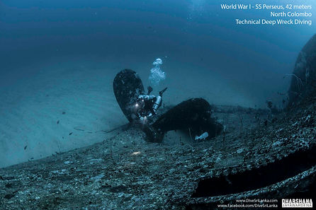 Colombo SS Perseus shipwreck