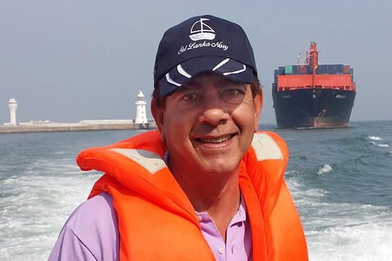 Howard Martenstyn, Port of Colombo