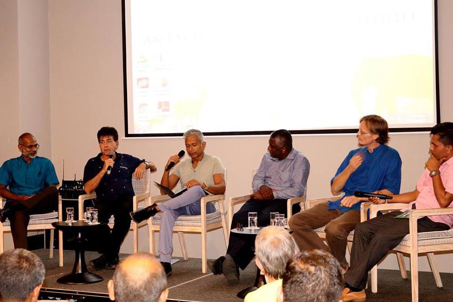 Panel on wildlife research in Sri Lanka
