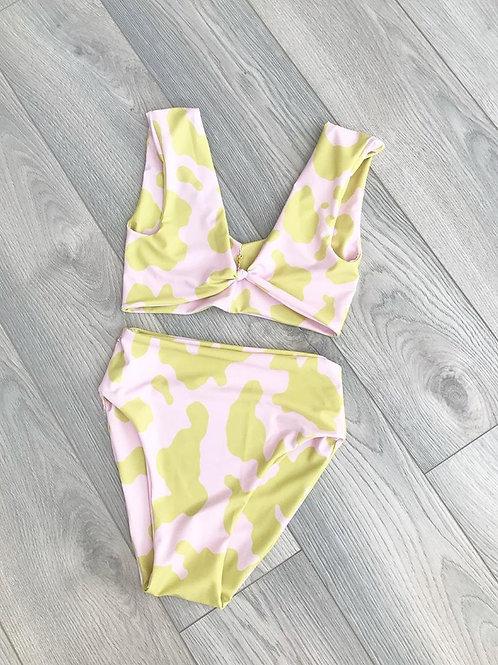 Knot Front Bikini Set