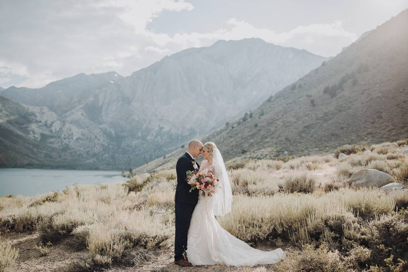 Destination wedding in Yosemite National