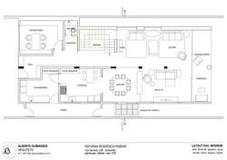 casa rubens. layout