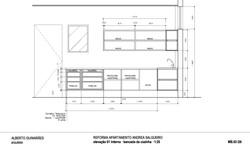 projeto mobiliário cozinha