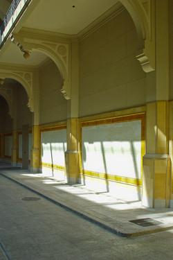 sala de leilões. restauro