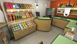 vista venda de alimentos