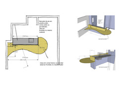 projeto mesa integrada sala/cozinha