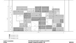projeto estante escritório