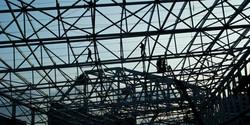 construção. arena allianz parque