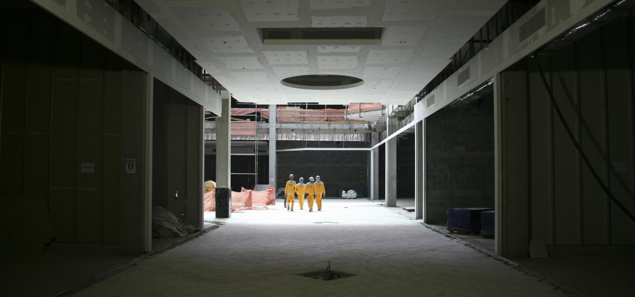 construção shopping barueri