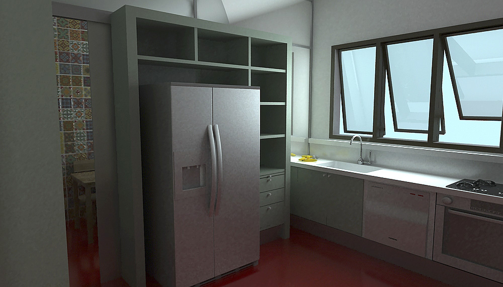 apartamento fernanda. cozinha