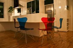 mesa integrada sala/cozinha