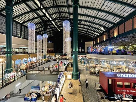 Fashion Island nutzt Personenzählsensoren-pünktlich zum Start Asiens' größter Railway Station