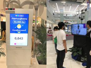 Real Time Occupancy at Fashion Island Mall Bangkok