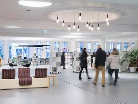 Besøkstelling gull verdt for Täby bibliotek
