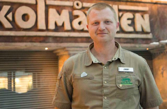 Jimmy Persson, forretningsområdeleder ved Kolmården Zoo.