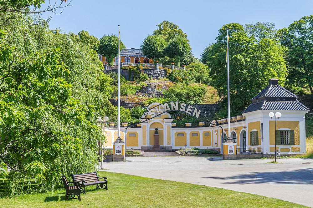 Skansen Stockholm entrance