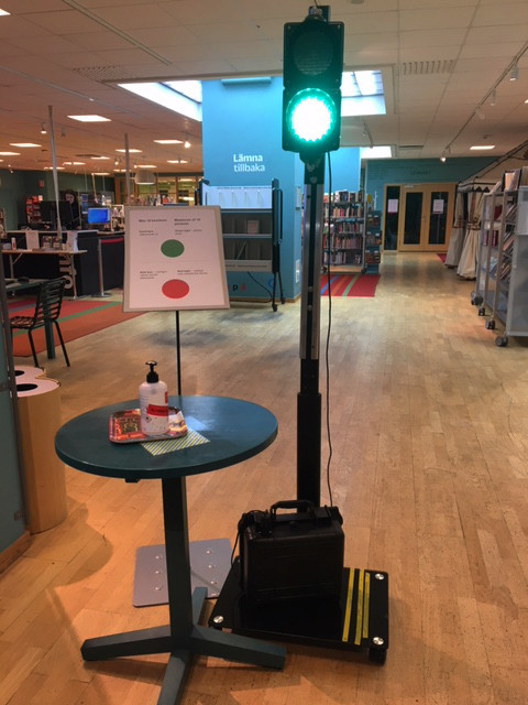 Real-time Occupancy and Traffic Light Solution at one of Sundbybergs Public Libraries
