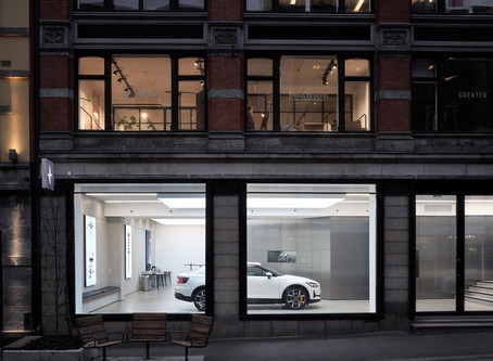 IMAS supplies people counters to Polestar's new showrooms in Europe and North America