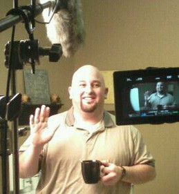 Me shooting a law office commercial....jpg