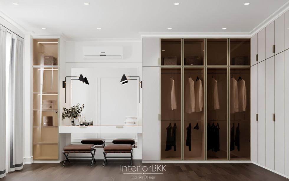 แบบตู้ walk-in closet