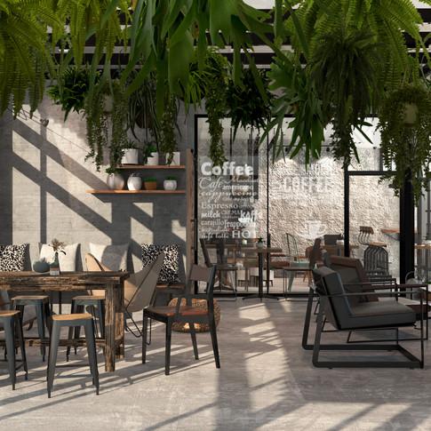yoga cafe ออกแบบร้านกาแฟ 2