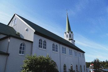 The church near the gallery