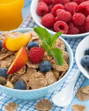 健康的な朝