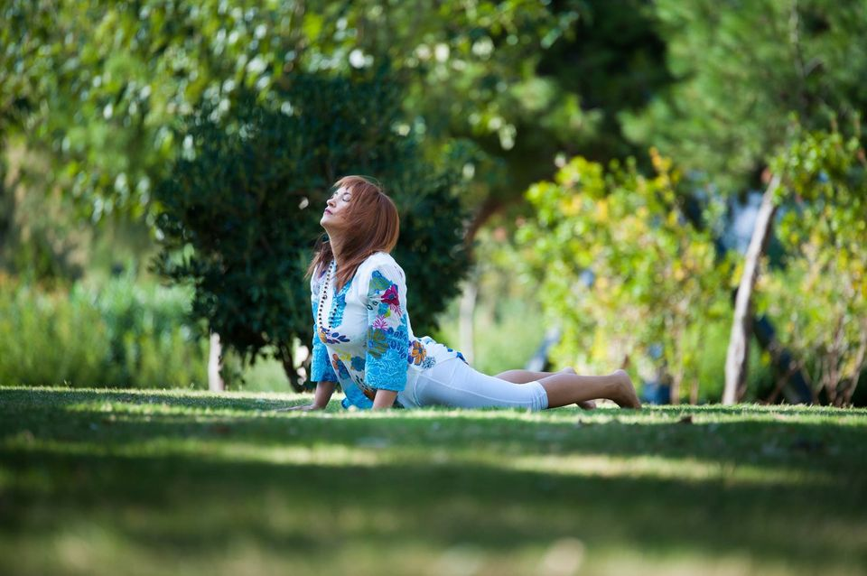 yoga cobra asana