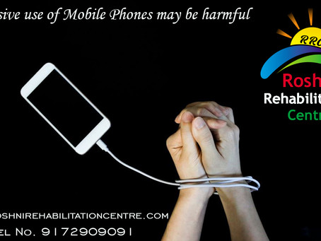 Excessive use of Mobile Phones may be harmful