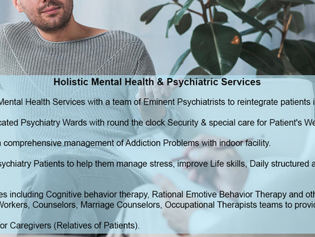 Holistic Mental Health & Psychiatric Services