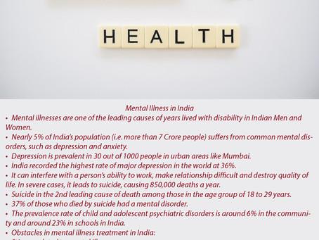 Mental Illness in India