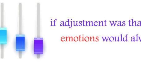 Adjustment Problems