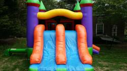 Double Slide Bounce House