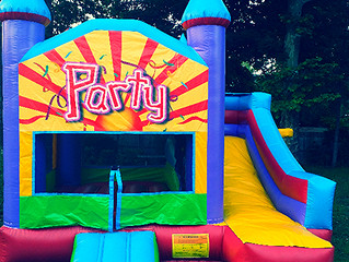 Bounce House Rentals in the Winter