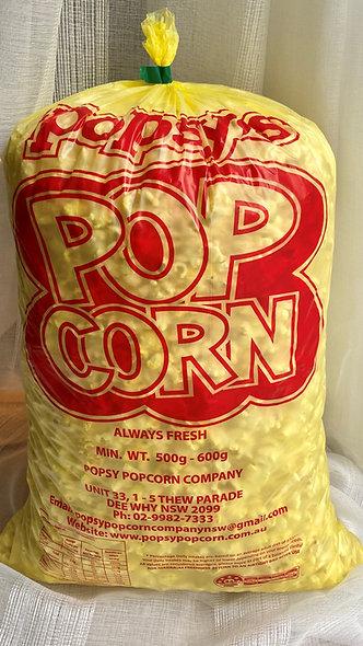 500gm Pre-popped movie style popcorn
