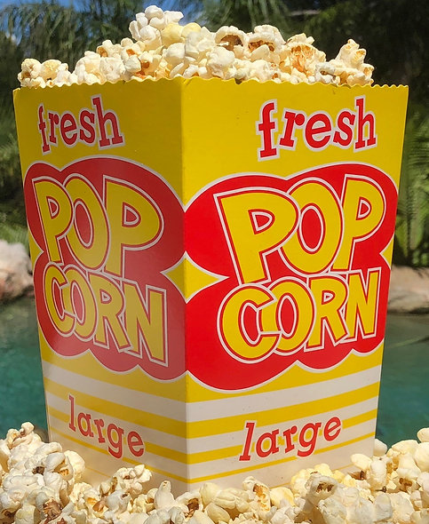 Large 75gm Red and Yellow popcorn crash cup (Box 250)