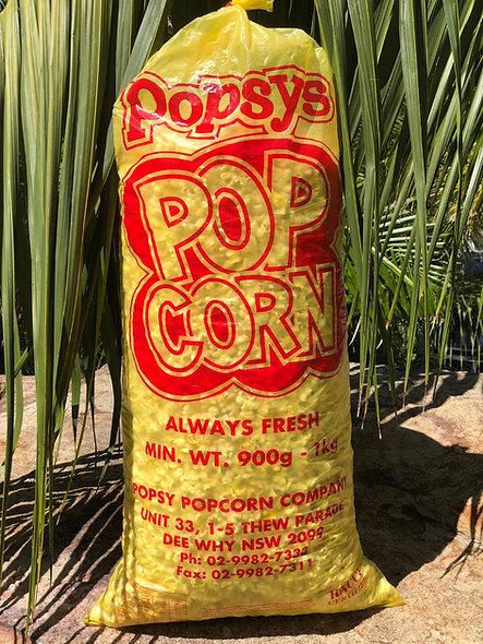 1kg Bag Pre-popped Movie Popcorn