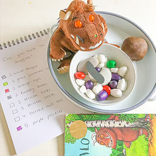 Resolve to Play Number Play Gruffalo