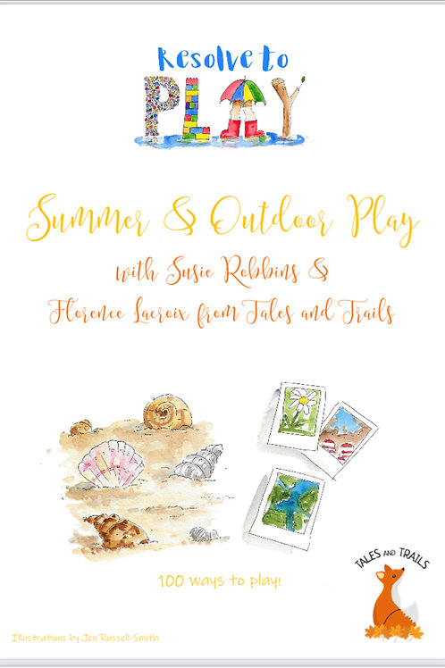 Summer and Outdoor Play Bumper Pack