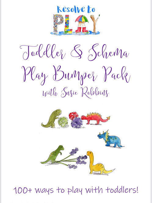 Toddler and Schema Play