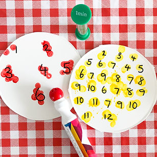 Resolve to Play Numeracy Play Subitising