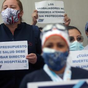 Los reclamos del sector salud para atender el coronavirus.