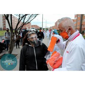 Cinco mil tapabocas fueron entregados por la alcaldía municipal