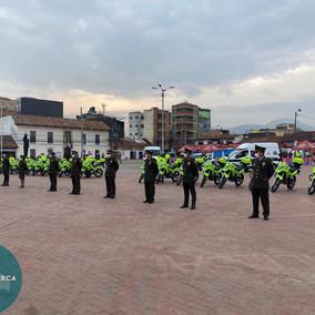 La Policía de Soacha estrena parque automotor