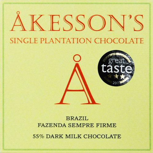 55% какао Форастеро - темный молочный